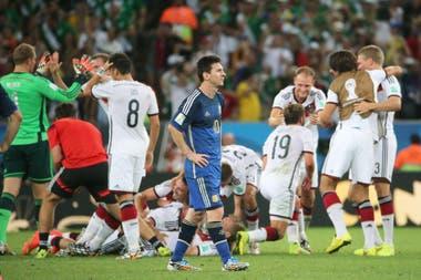 El día que Uruguay alentó por Alemania