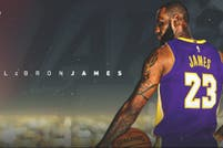 El rey ha llegado, anunciaron los Lakers, y Magic Johnson le dio la bienvenida a LeBron James