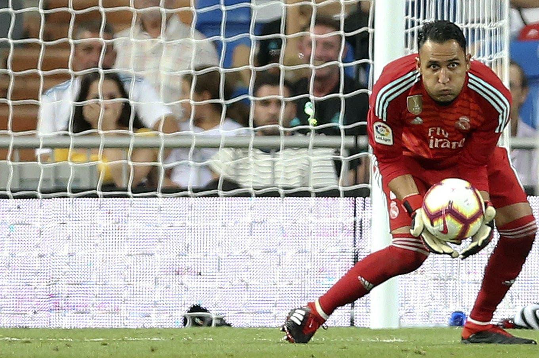 Real Madrid venció a Getafe, en otro partido en el que Navas le ganó la pulseada a Courtois