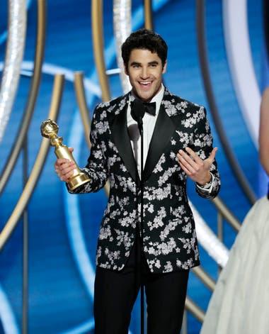 Darren Criss, galardonado por interpretar a Andrew Cunanan, el asesino de Gianni Versace
