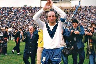 Carlos Bianchi, ídolo y goleador de Velez