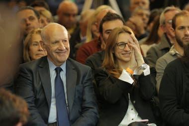 Roberto Lavagna en su acto de campaña
