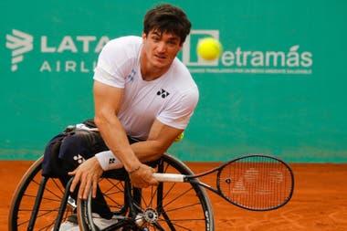 El circuito de tenis adaptado, donde se destaca Gusti Fernández (2° del mundo), recibirá ayuda económica por parte de la ITF y los Grand Slam.