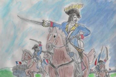 Ilustración de Tomás, 12 años, finalista del concurso de ilustración para el libro
