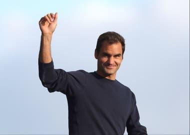 A los 38 años, Federer iniciará una gira por cinco continentes