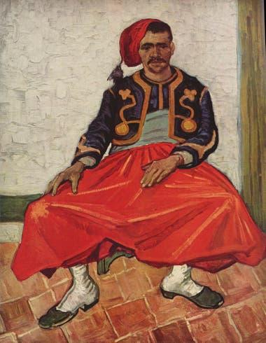 Pintado en 1888, el cuadro se vio en la Argentina en la década de 1960