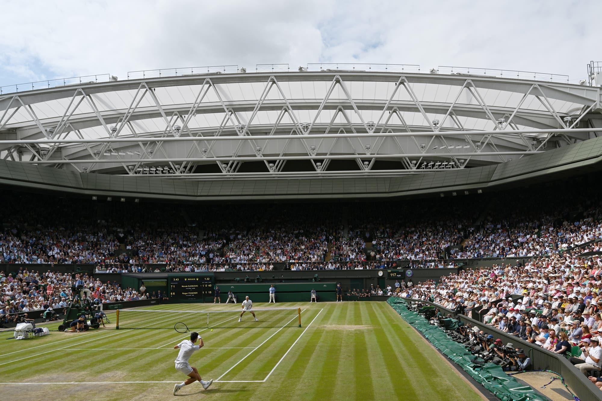 Coronavirus. Wimbledon, en duda: en una reunión de emergencia se decidirá si posterga o cancela el torneo de este año