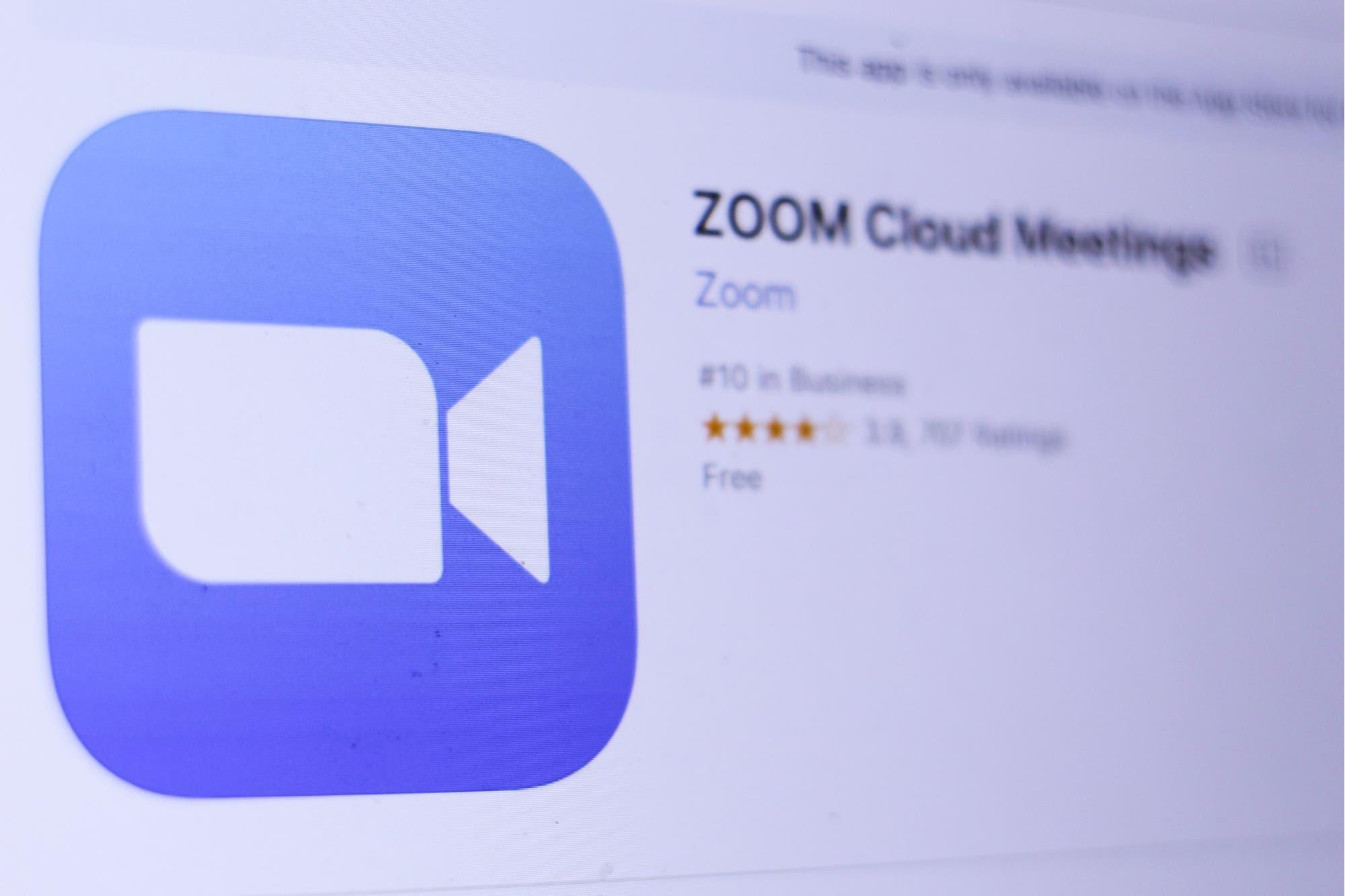 El servicio de videoconferencia Zoom para iOS deja de compartir información con Facebook