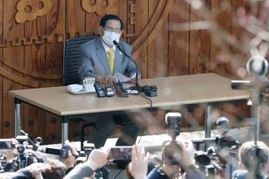 La Iglesia de Shincheonji afirma que Lee se puso el manto de Cristo y llevará a 144.000 personas al cielo el día del juicio final