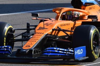 Norris (McLaren), protagonista de una carrera inesperada, en la que se impuso el francés Pierre Gasly