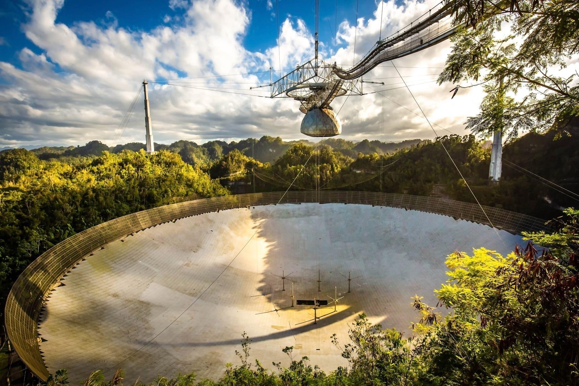 Adiós a Arecibo: desmantelarán el histórico radiotelescopio después de 56 años de servicio