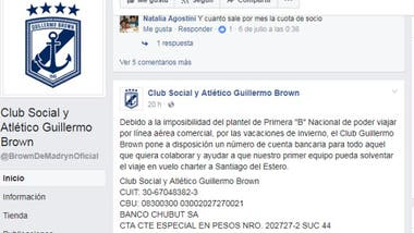 La solicitada de Brown de Puerto Madryn