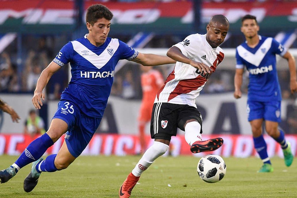 River sigue confundido: perdió 1-0 ante Vélez como visitante y ...