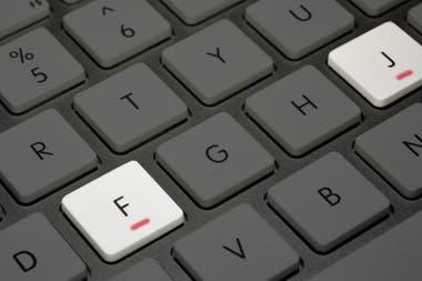 Por Qué Las Letras F Y J Del Teclado De Tu Computadora
