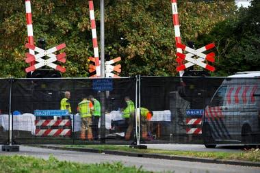 El accidente ocurrió en Oss, al sur del país