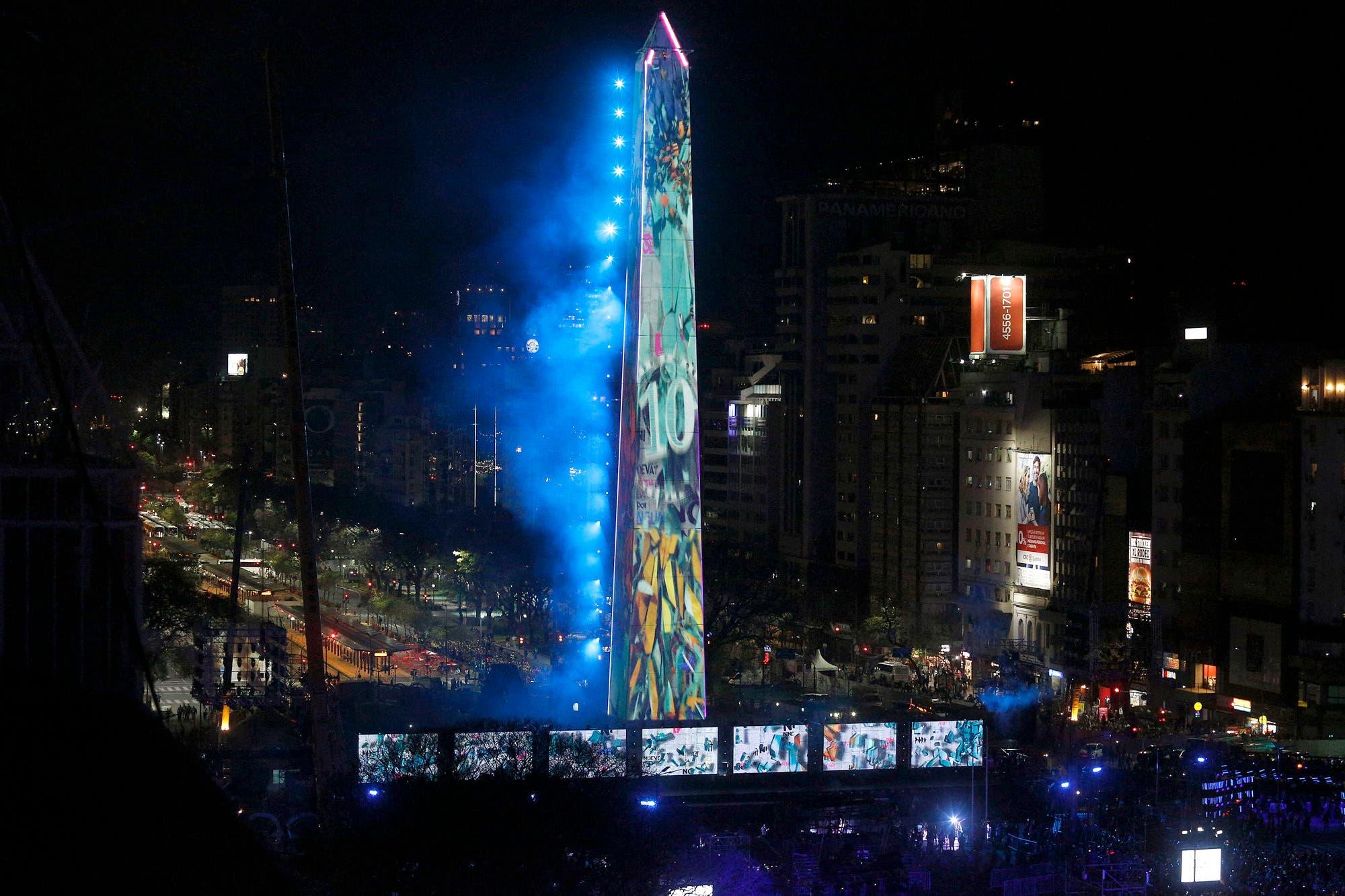 Juegos Olímpicos de la Juventud: una fiesta que atrajo a una marea humana a los pies del Obelisco