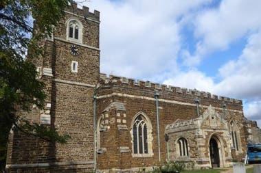 La iglesia se remonta al siglo XIV.