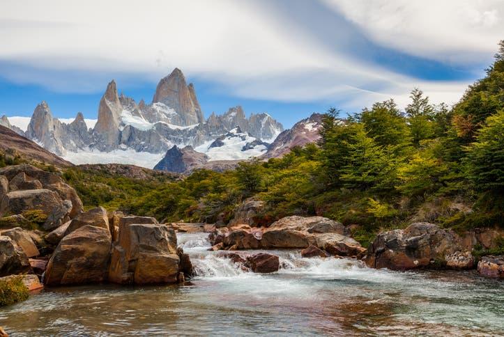 Cerro Fitz Roy. Parque Nacional Los Glaciares. Santa Cruz