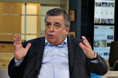 El líder del interbloque de Juntos por el cambio de diputados, Mario Negri