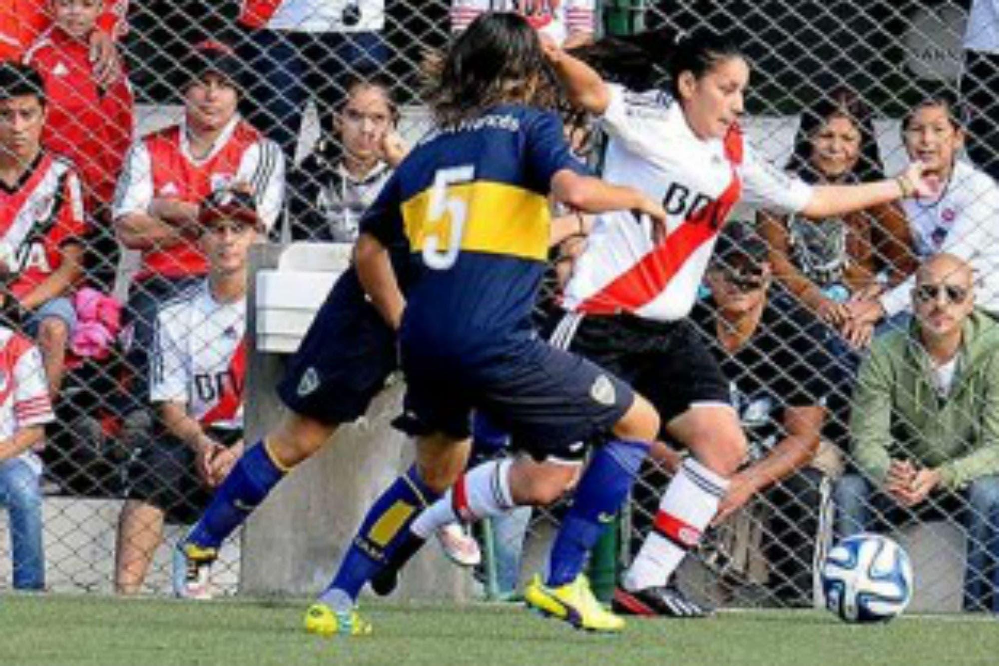 El primer torneo de fútbol femenino profesional comenzará con Boca-River en la Bombonera
