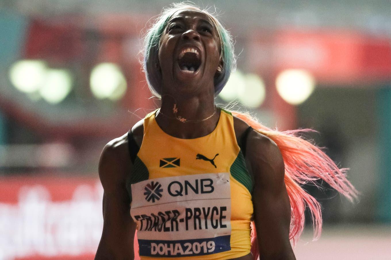 Shelly Ann Fraser-Pryce: de la infancia pobre en Kingston a su cuarto título mundial en los 100 metros