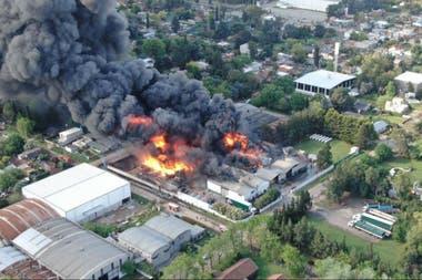 Explosión e incendio en una fábrica en Suiza