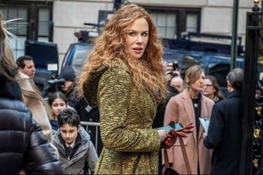 Nicole Kidman, en marzo de 2019, en el rodaje de The Undoing