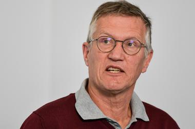 El epidemiólogo jefe de Suecia, Anders Tegnell
