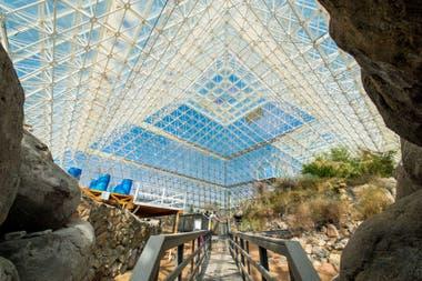 Biosphere II es el intento más avanzado y mejor logrado de la humanidad para recrear un mundo que funcione de manera totalmente autónoma