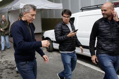 Darío Nieto lleva años como secretario privado de Mauricio Macri y es uno de los imputados en la causa por espionaje ilegal