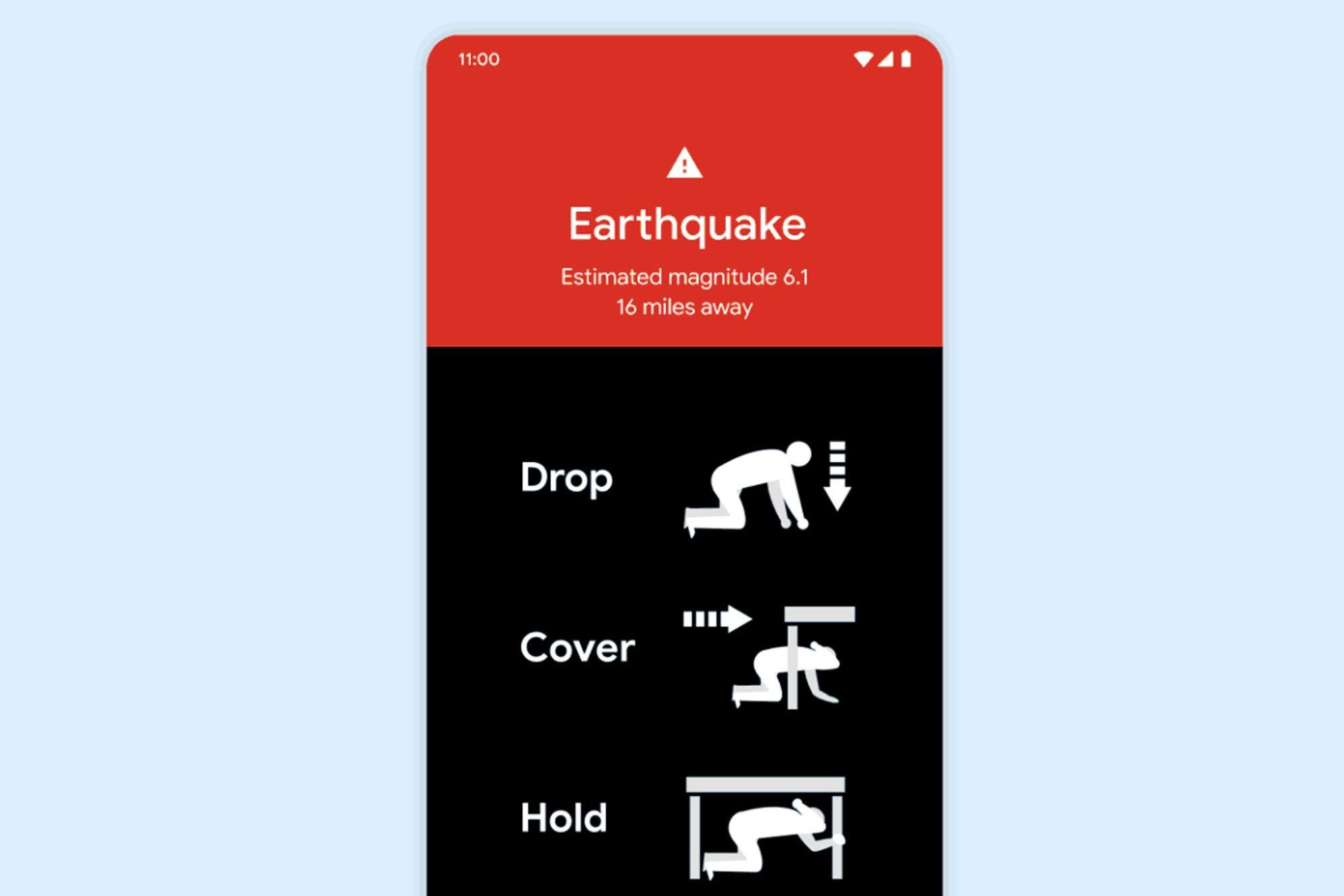 Google convierte los teléfonos Android en pequeños sismógrafos para ayudar a detectar terremotos