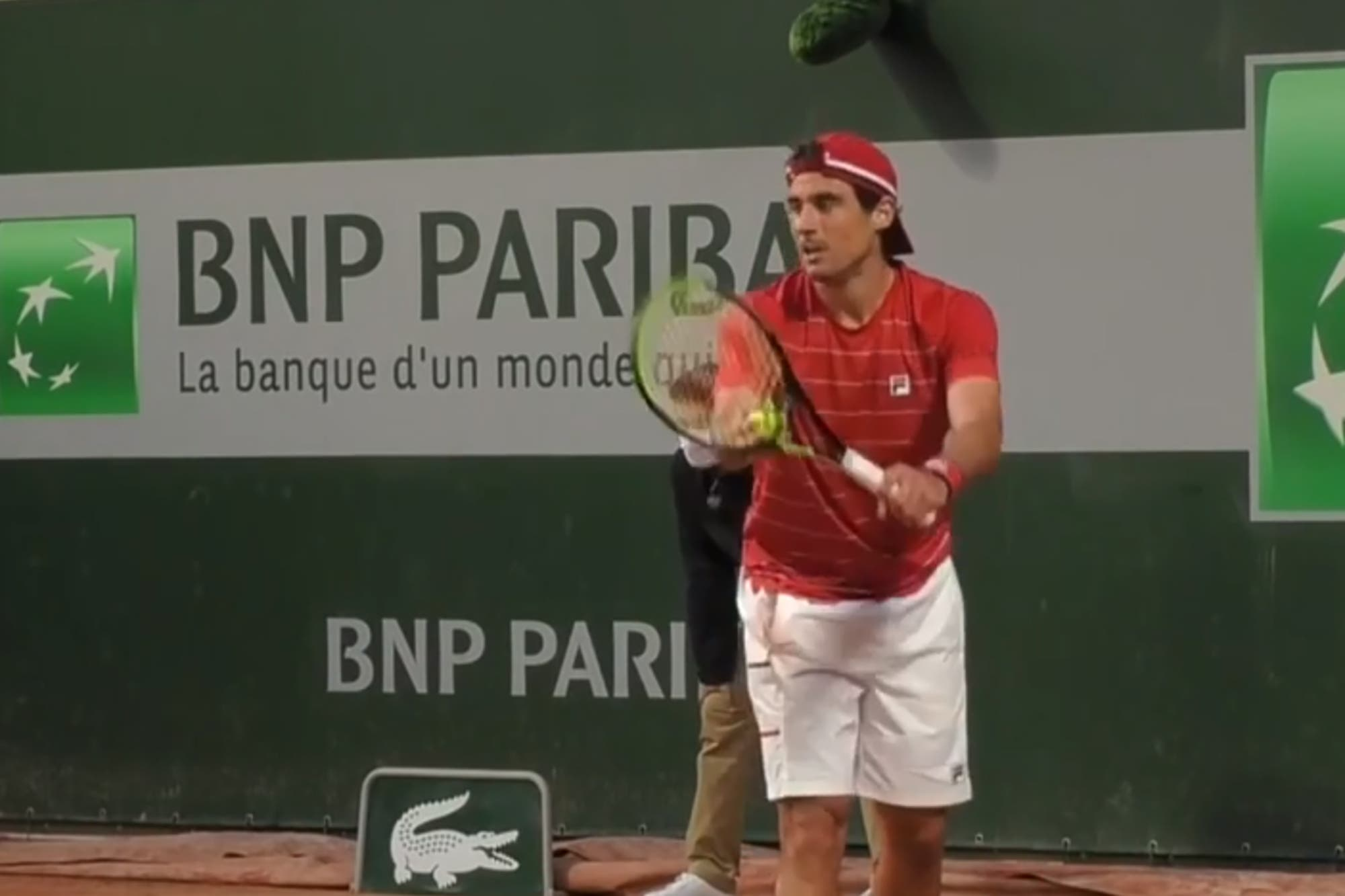 """Roland Garros. Guido Pella: una victoria y la necesidad de salir de un momento que atravesó """"mil veces"""""""
