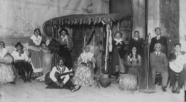 En 2021 se cumplirán cien años de la llegada del Conjunto de Arte Nativo, de Andrés Chazarreta, a un teatro de Buenos Aires