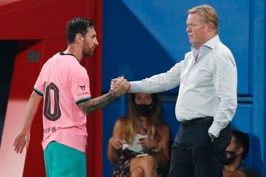 Lionel Messi se reunió con Ronald Koeman y se quedó con una impresión positiva