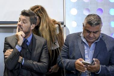 Marcelo Tinelli, presidente de la Liga Profesional, que delega en la AFA presidida por Claudio Tapia el manejo de los protocolos antidopaje en la primera división del fútbol argentino.