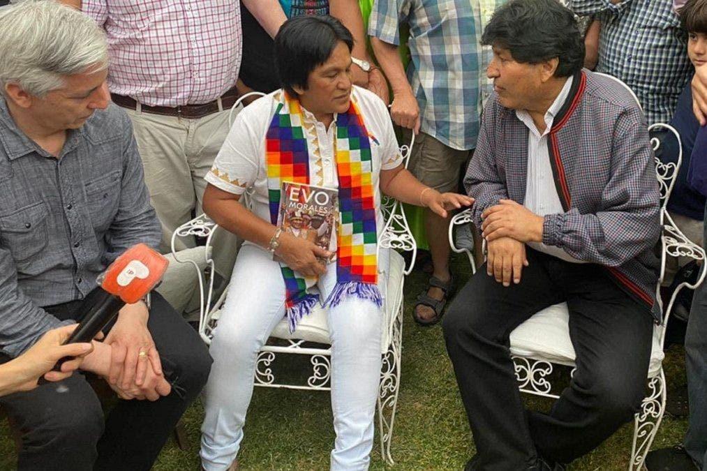 """Tras recibir a Evo Morales, Milagro Sala pidió """"sacar a los gorilas"""""""