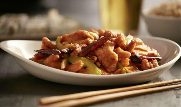Receta de Pollo frito Kung Pao