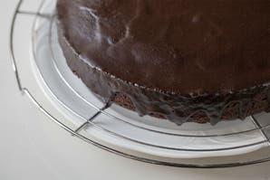 Glaseado para torta de chocolate