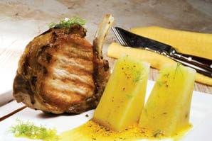 Cerdo marinado