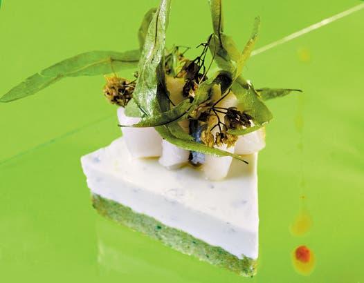 Receta de Cheesecake con pejerrey
