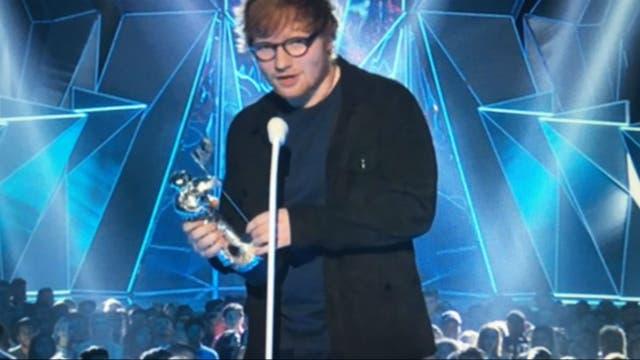 Ed Sheeran, el artista del año