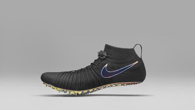 Una zapatilla hecha a medida con una impresora 3D por Nike para la atleta Allyson Felix