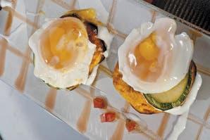 Tortillitas de calabaza, zapallito y huevo