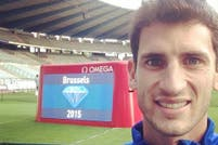 Germán Chiaraviglio finalizó noveno en la Diamond League de Bruselas