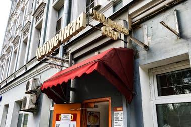 Un restaurante soviético