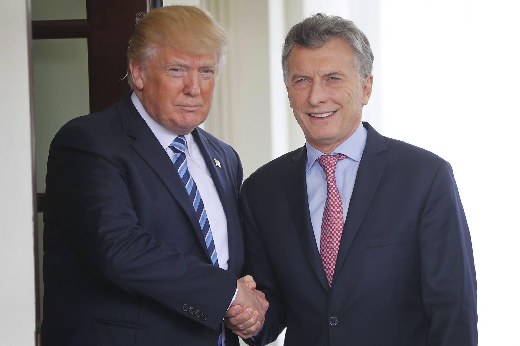 Otro gesto de respaldo de Trump al gobierno de Macri