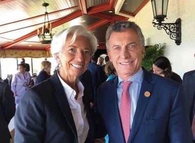Legrade y Macri se reunieron ayer antes de la sesión del G-7