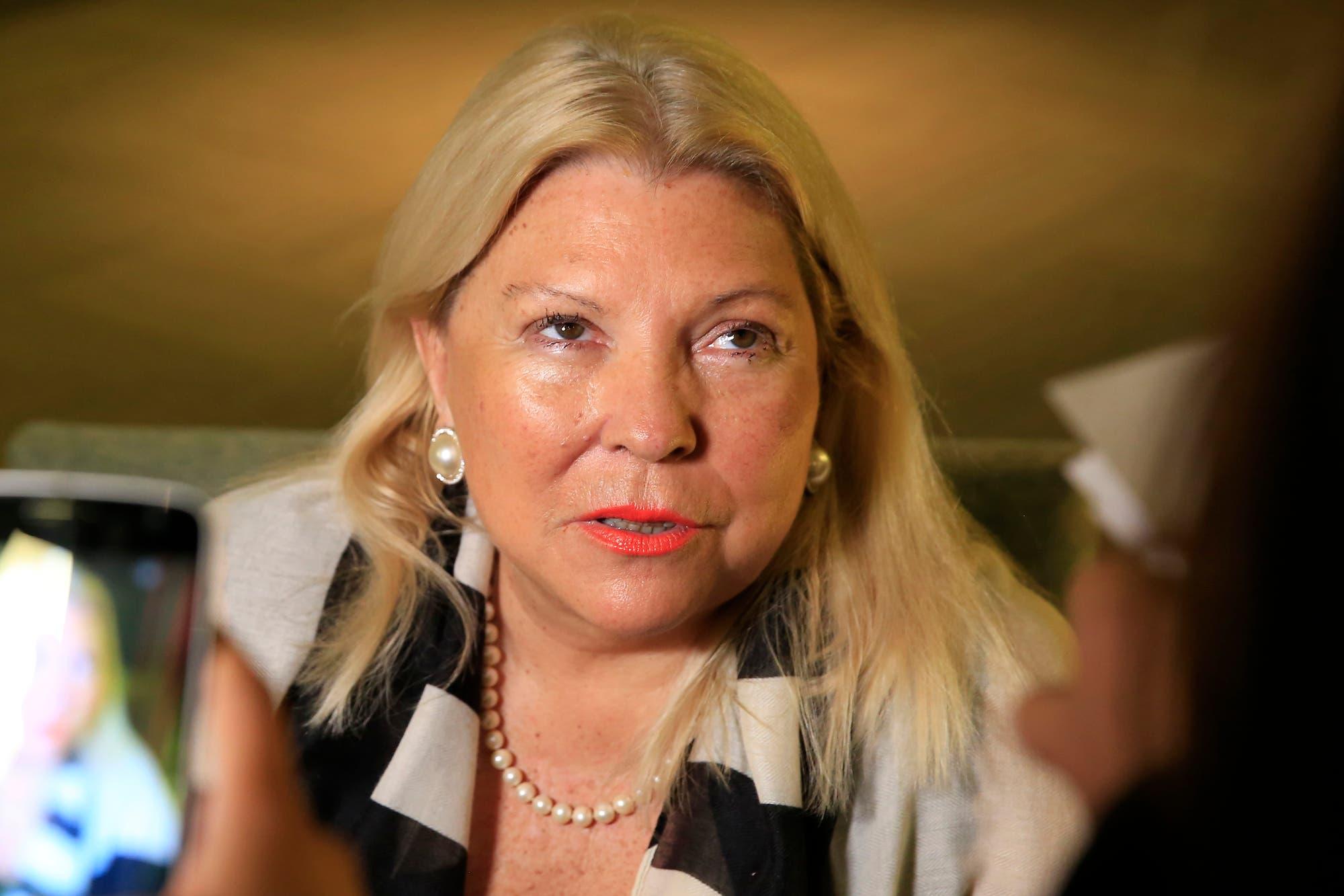 Elisa Carrió insiste y amplía su pedido de juicio político contra Ricardo Lorenzetti