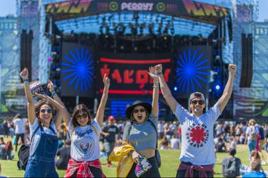 De la electrónica al rock y del indie al hip hop, el público de Lollapalooza disfruta de la variedad que ofrece el festival