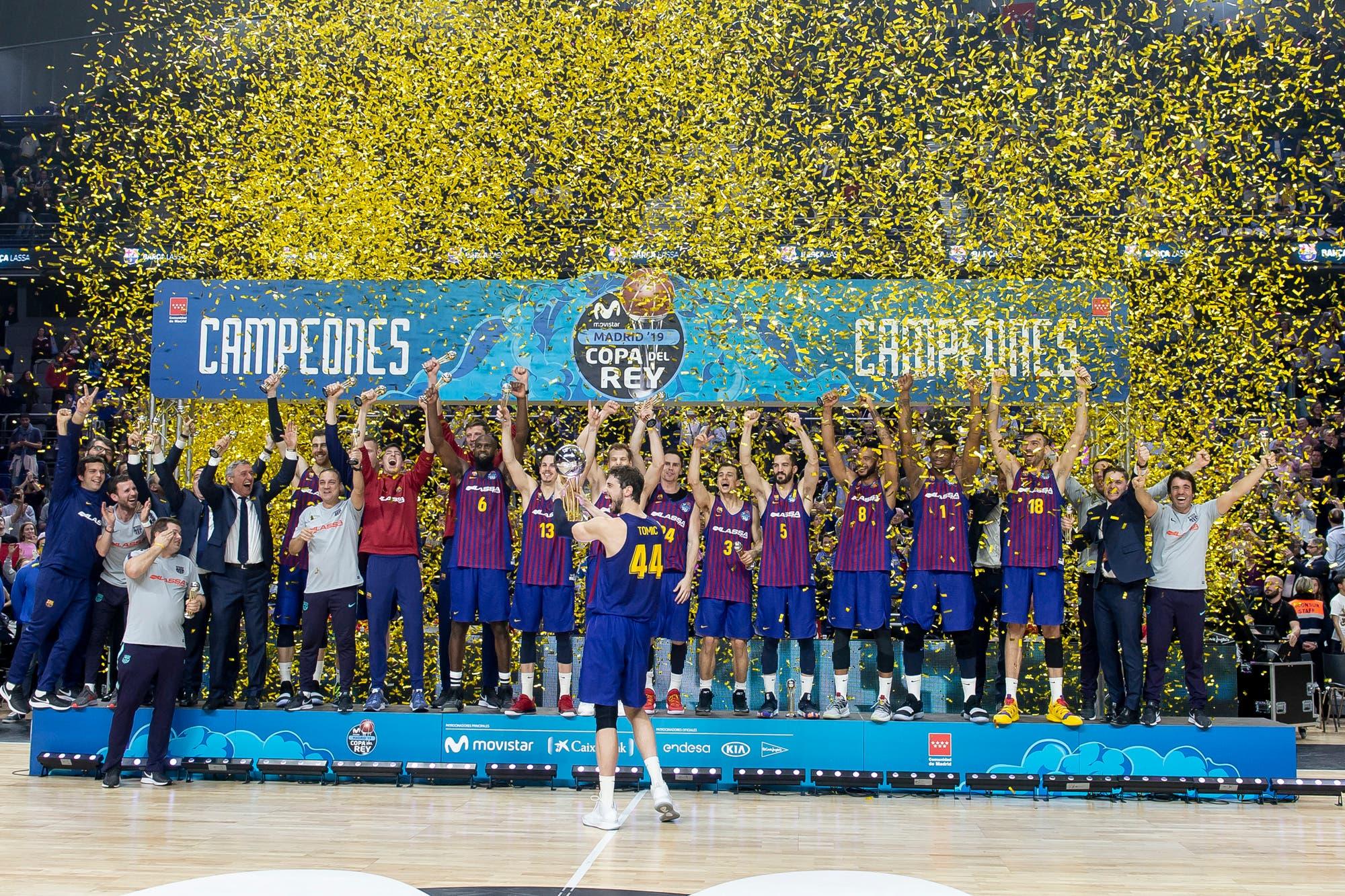 En un final épico y con polémicas, Barcelona le arrebató a Real Madrid la Copa del Rey de básquetbol